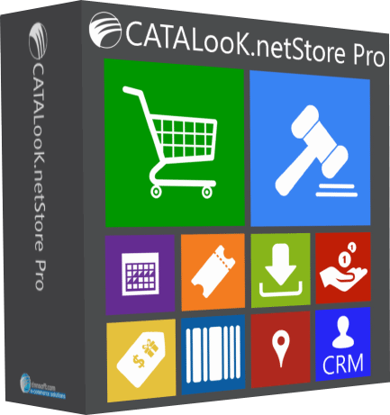 CATALooK.NetStore Pro DNN 5/6/7/8/9 v 7.2.6 with Basic Installation